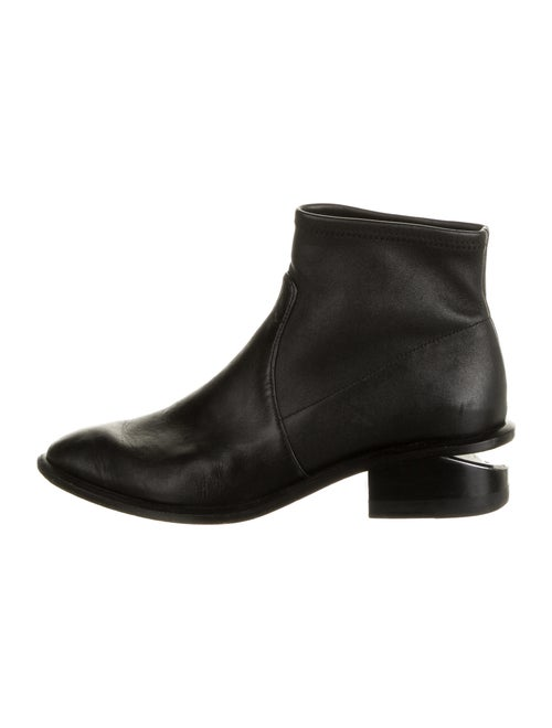 Alexander Wang Leather Chelsea Boots Black