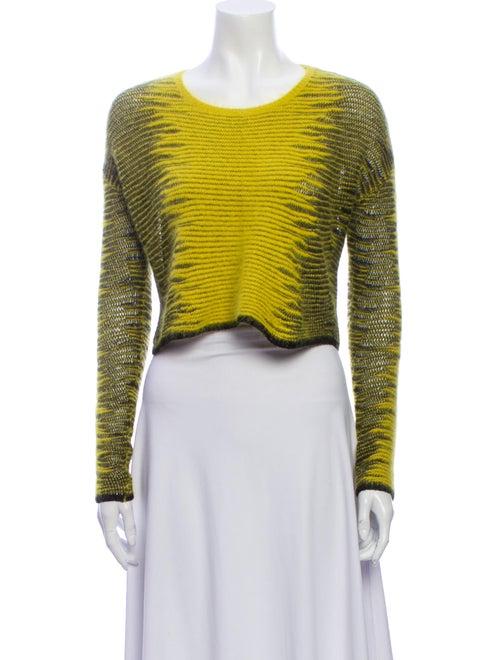 Alexander Wang Scoop Neck Sweater Yellow