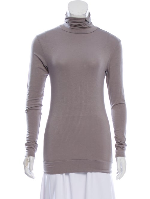 Ambush Turtleneck Long Sleeve Top Grey