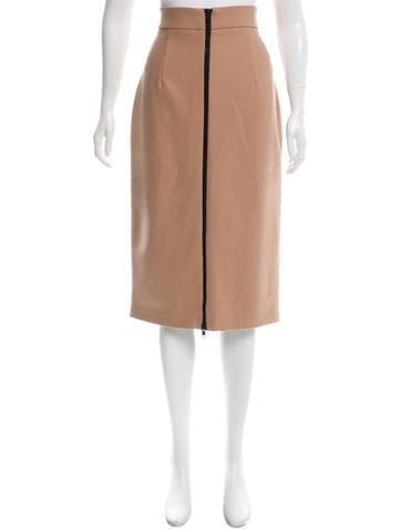 Amen. Wool-Blend Pencil Skirt w/ Tags