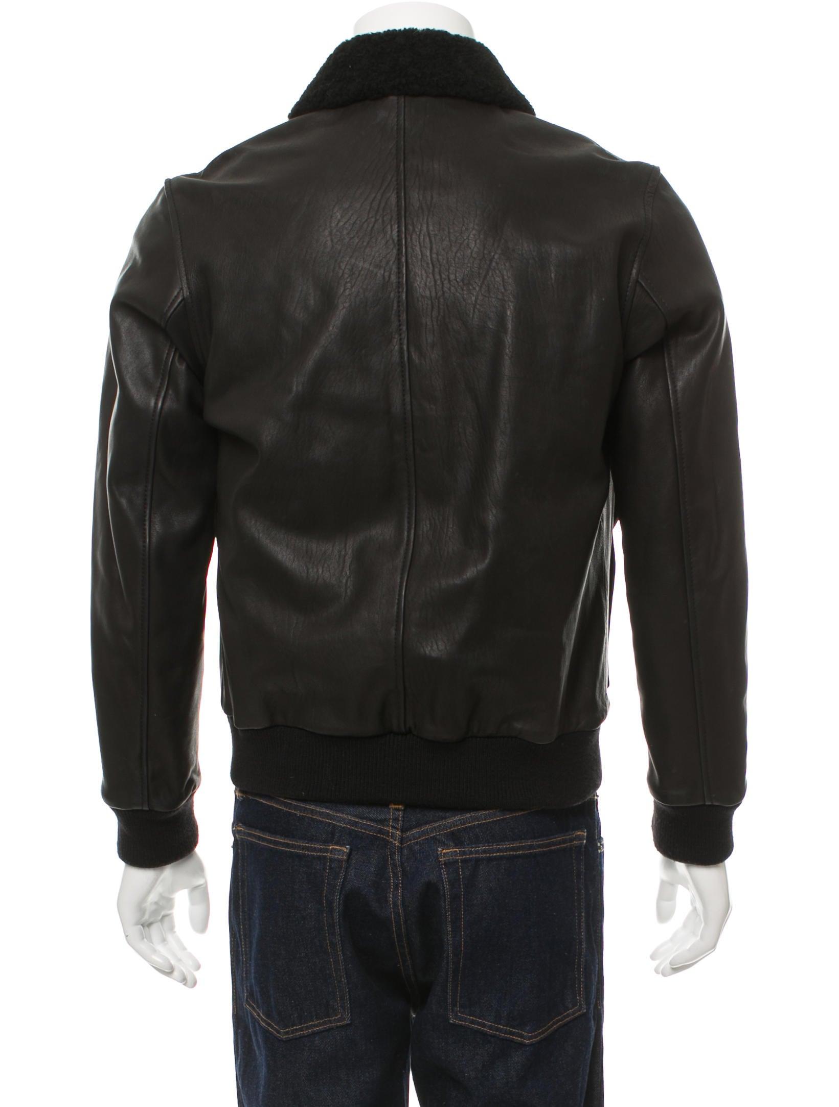Ami leather jacket