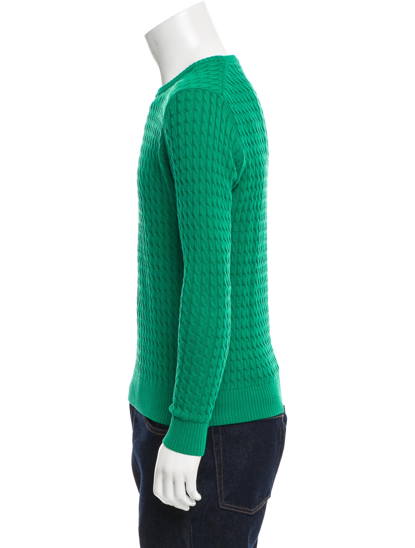 Cable Knit Crew Sweater 47