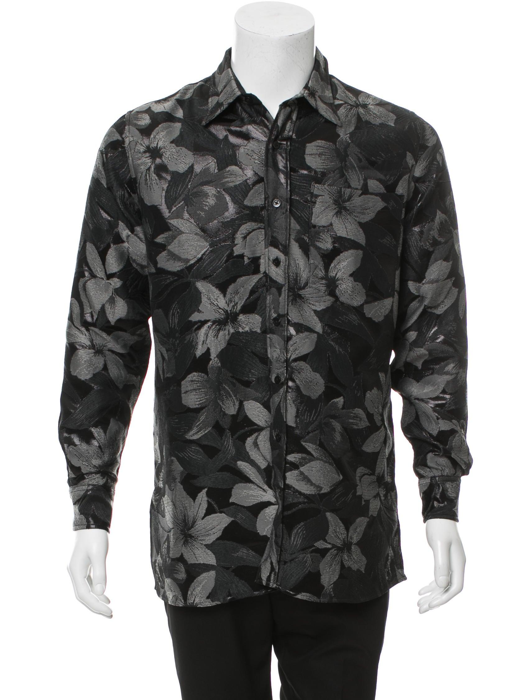 Ami alexandre mattiussi floral print button up shirt for Floral print button up shirt