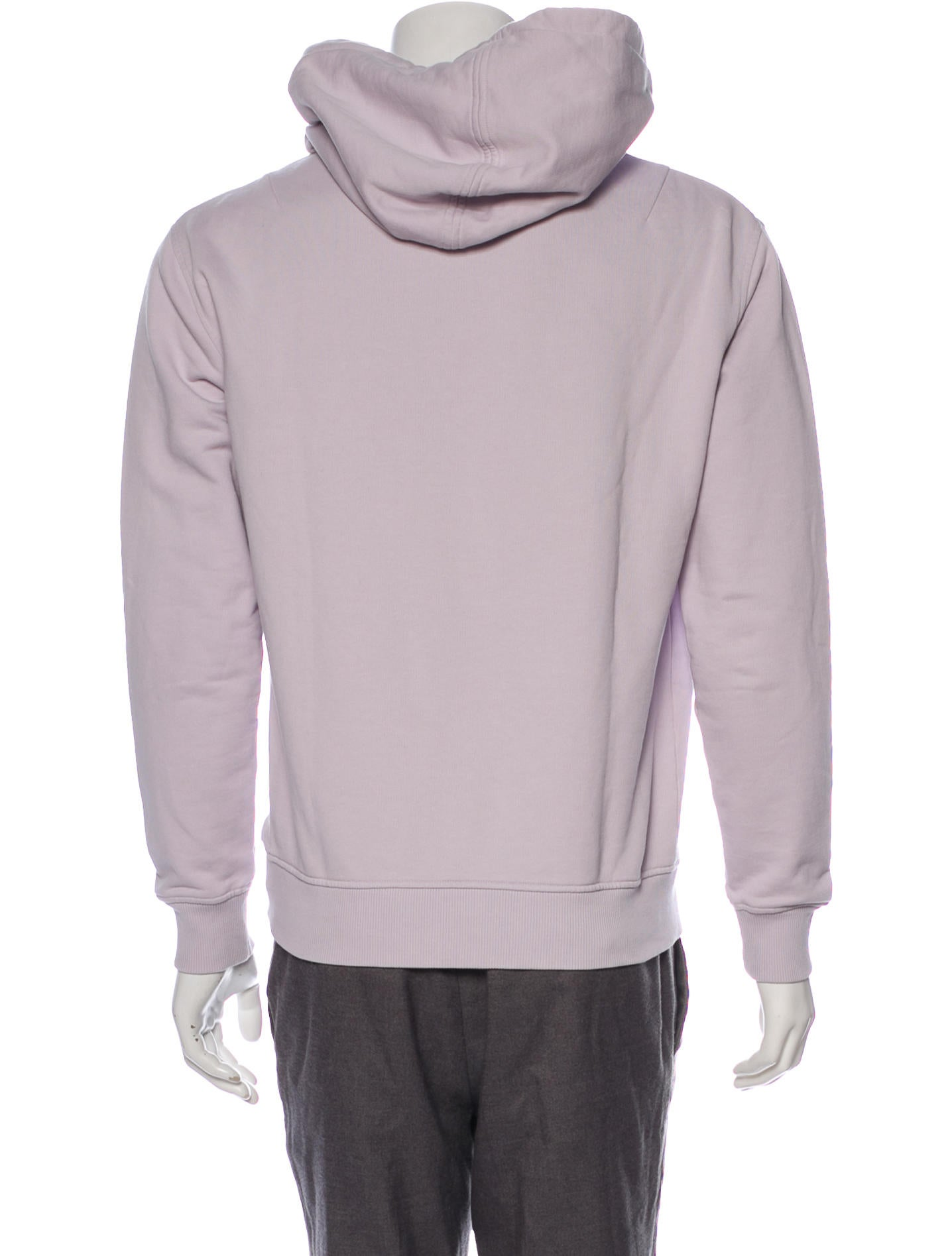 AMI Alexandre Mattiussi Embroidered Woven Hoodie Clothing