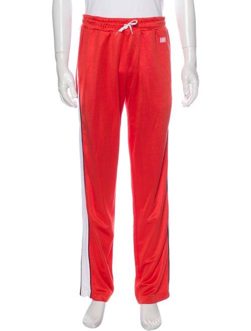 AMI Alexandre Mattiussi Athletic Pants Orange