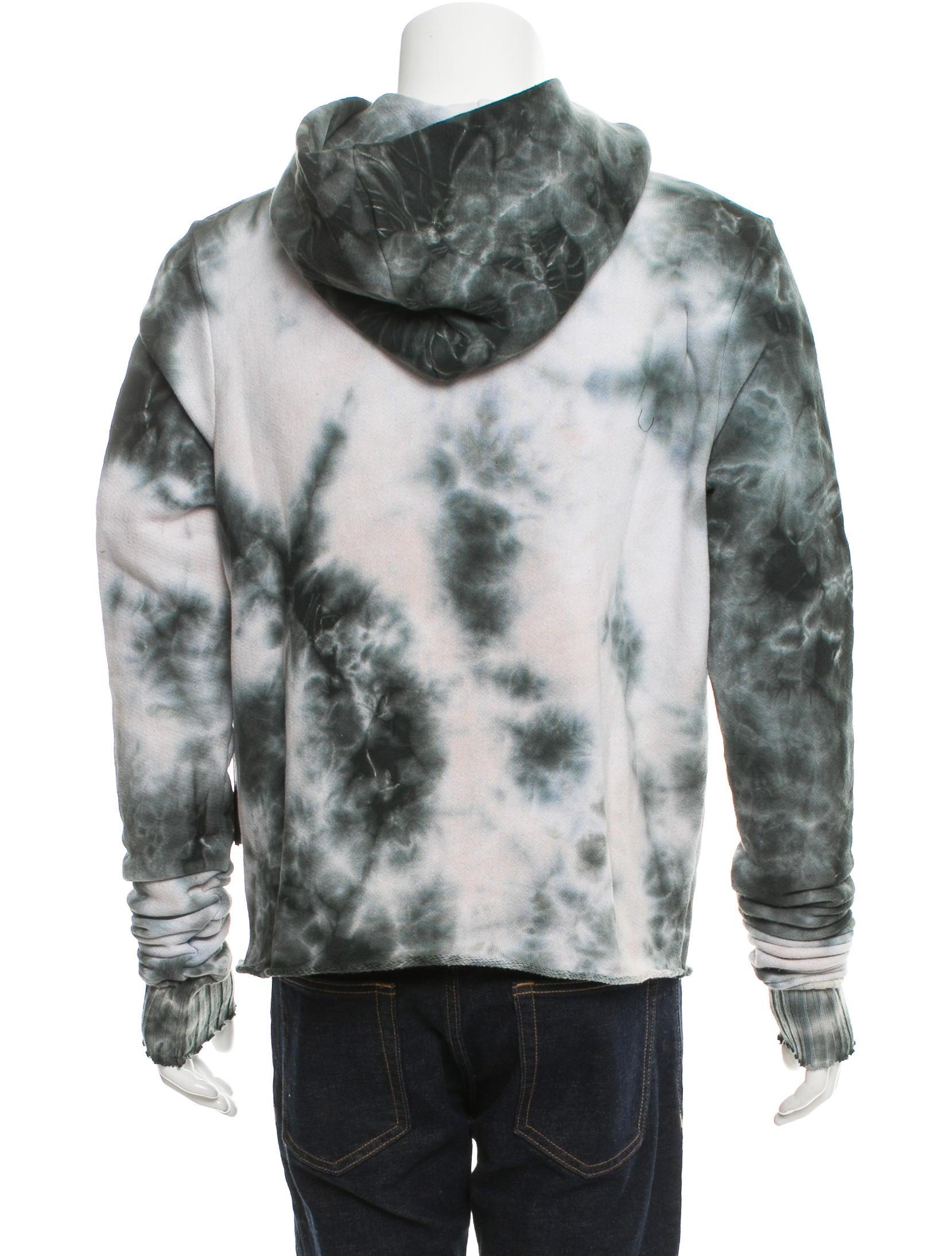 Tie dyed hoodie