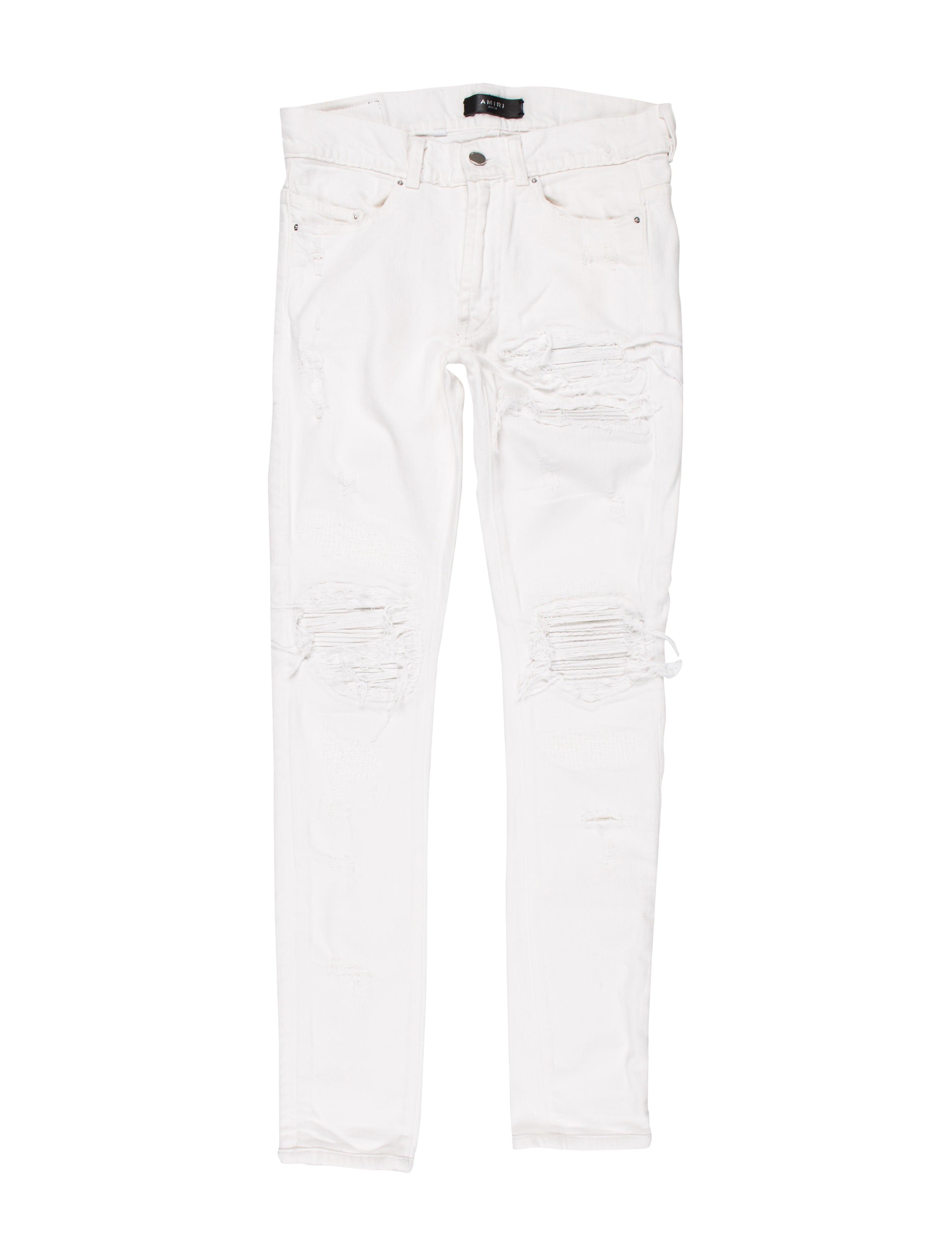 eadb7b8afda Amiri MX-1 Distressed Skinny Jeans - Clothing - AMIRI20633   The ...