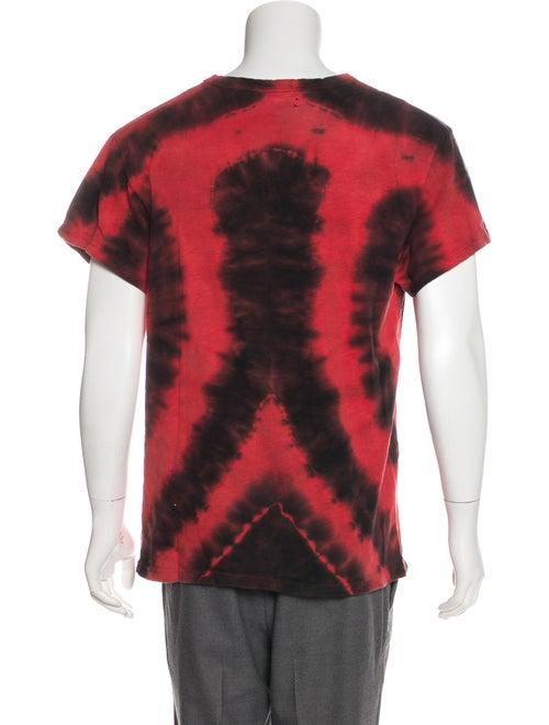 21ca6c78 Amiri 2017 Tie Dye Heart T-Shirt - Clothing - AMIRI21265   The RealReal