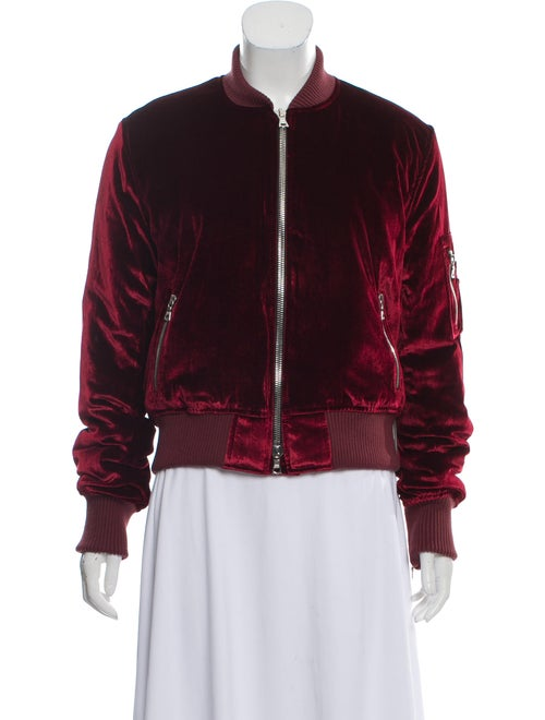 Amiri Velvet Bomber Jacket w/ Tags