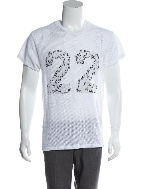 Amiri Twenty-Two Mesh T-Shirt white