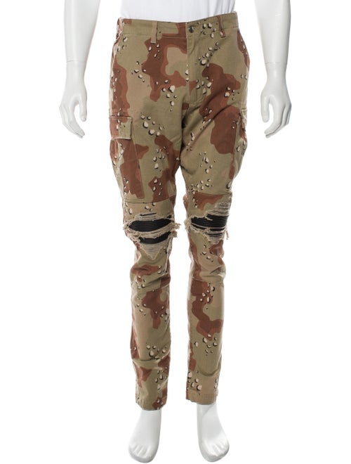Amiri Camouflage Cargo Pants Cargo Pants Brown
