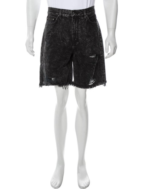 Amiri Thrasher Denim Denim Shorts w/ Tags Denim