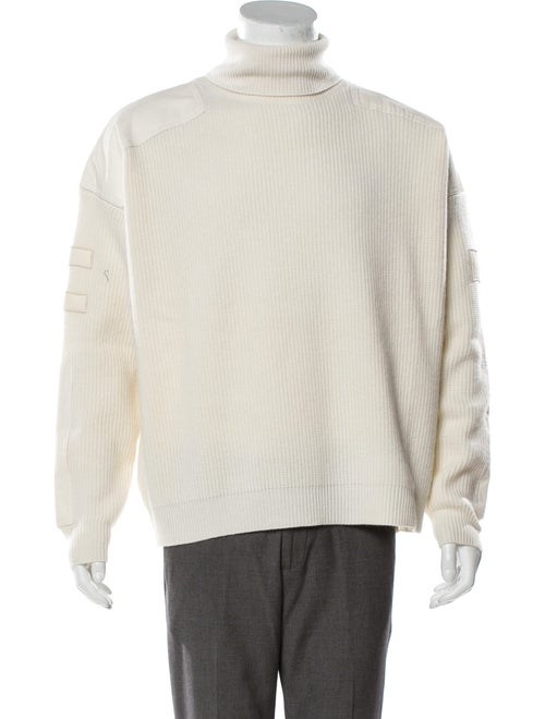 Amiri Turtleneck Long Sleeve Pullover