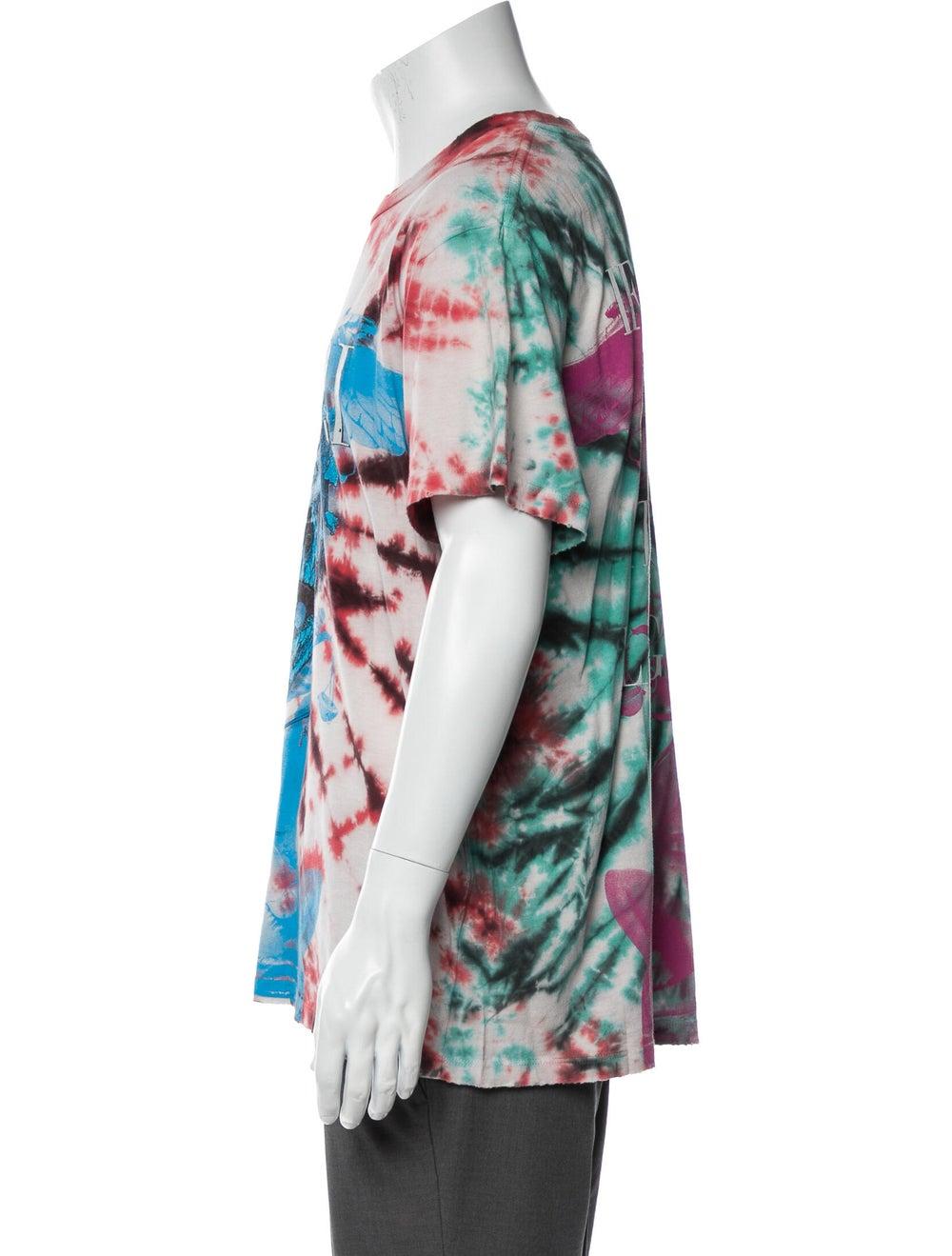 Amiri Tie Dye Skull Tie-Dye Print T-Shirt w/ Tags… - image 2