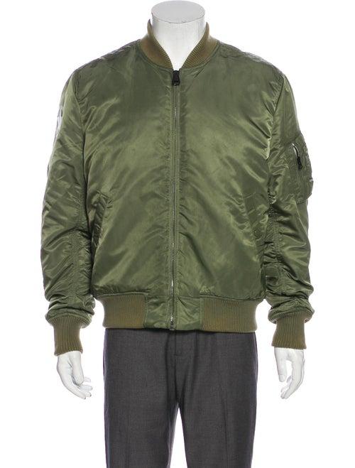 Amiri Graphic Print Bomber Jacket Green