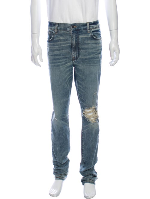 Amiri Skinny Jeans Blue