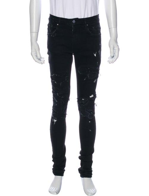 Amiri Moto Jeans Black