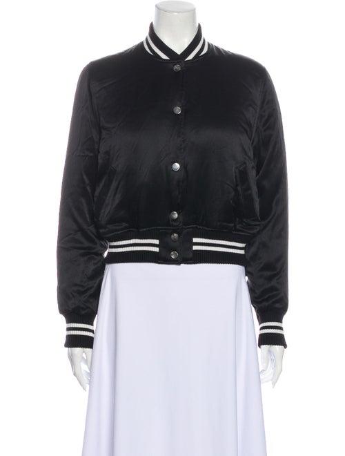 Amiri Silk Bomber Jacket w/ Tags Black