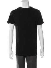 Amiri Shotgun Crew Neck T-Shirt w/ Tags