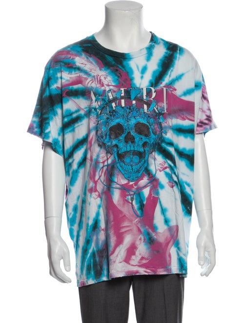 Amiri Grateful Dead Tie Dye Tie-Dye Print T-Shirt