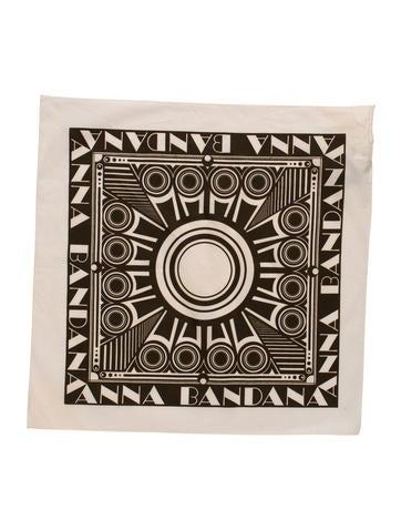 Printed Bandana Scarf w/ Tags