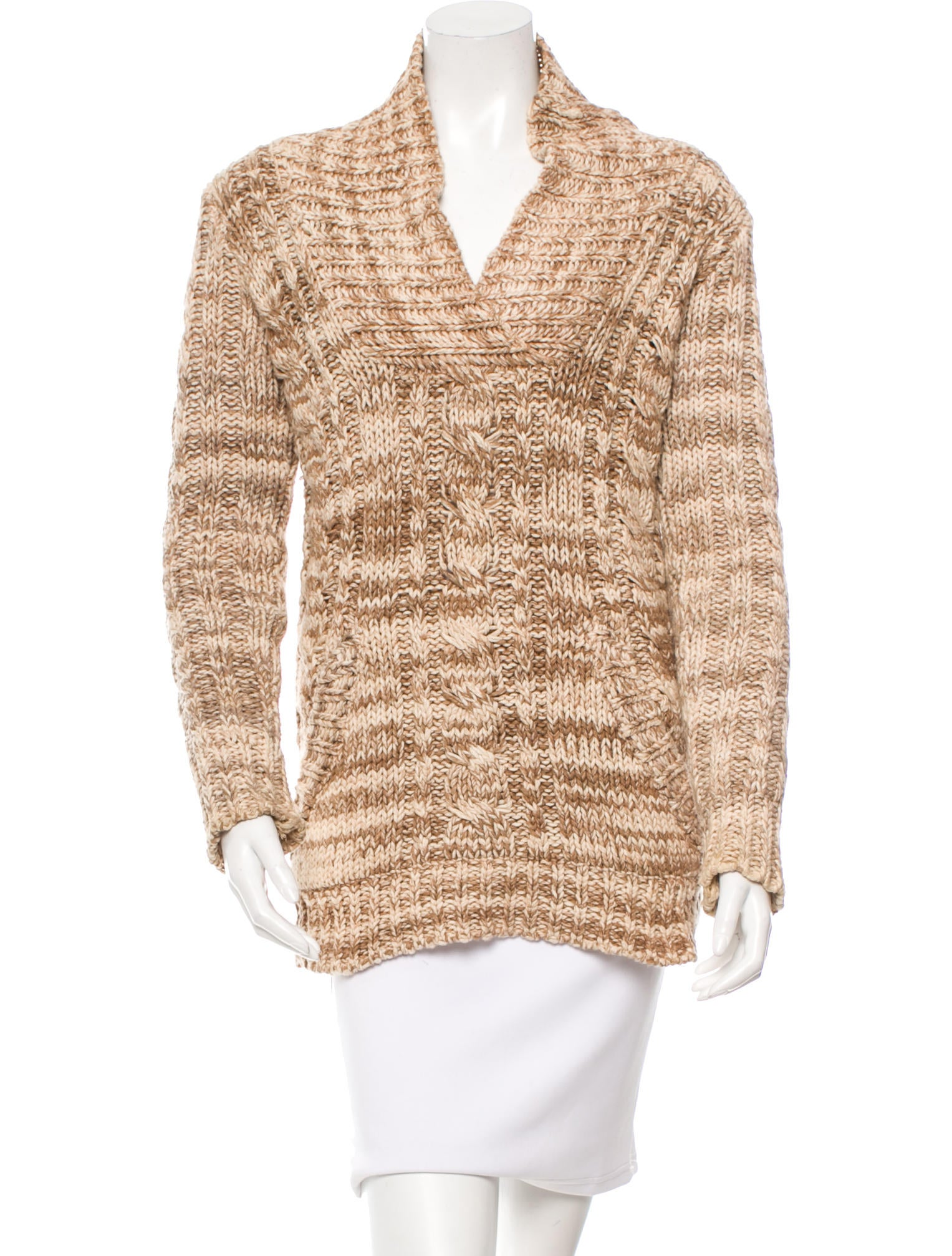 Anna Sui Chunky Knit Sweater - Clothing - ANA21866 | The ...