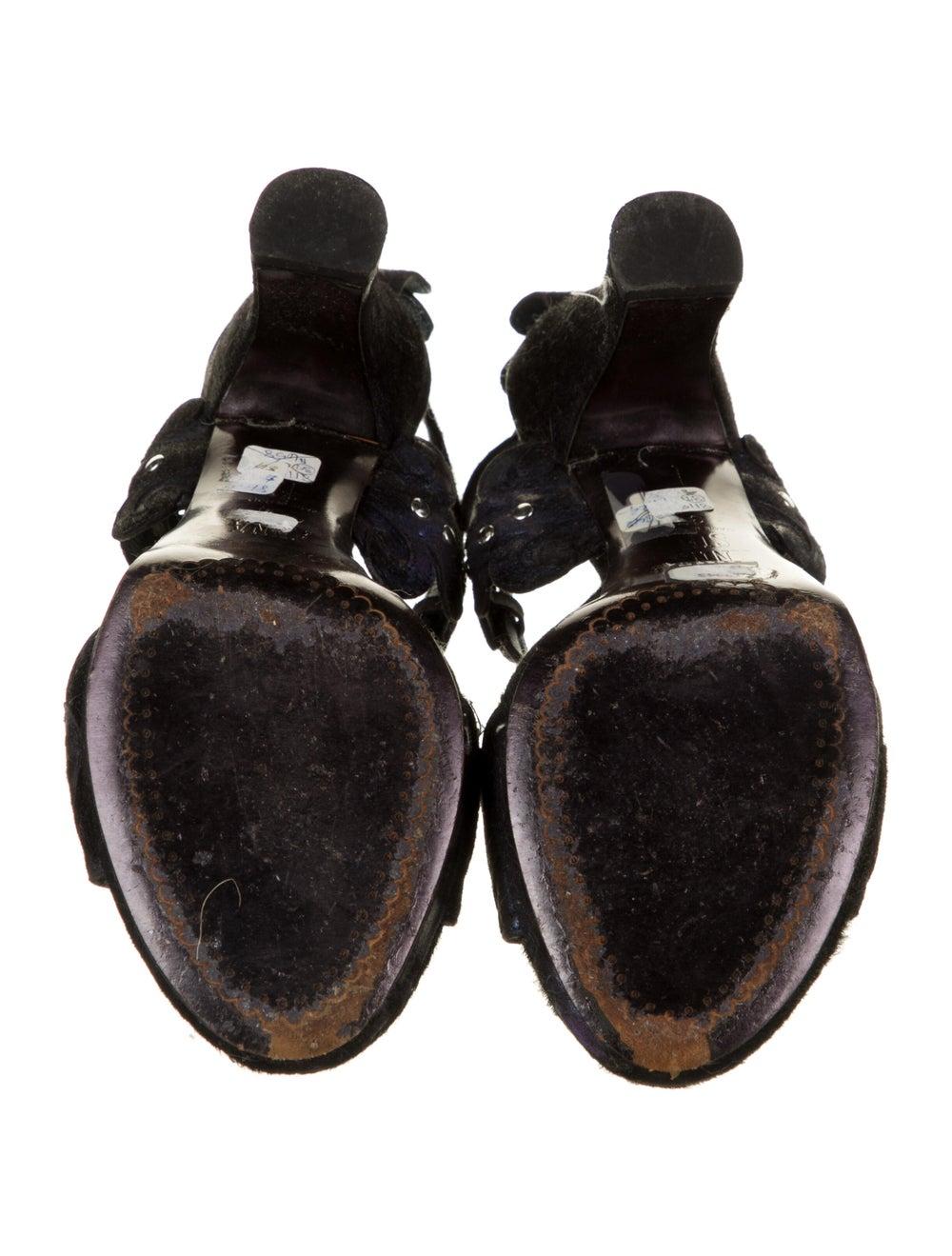 Anna Sui Sandals Black - image 5