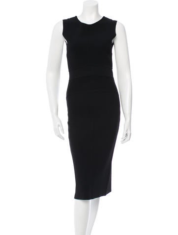 Antonio Berardi Midi Bodycon Dress None