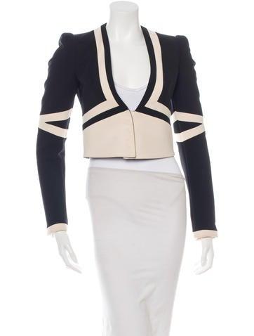 Cropped Virgin Wool Jacket