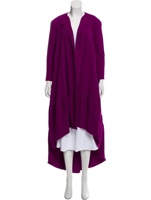 Antonio Berardi Long Sleeve Evening Jacket Purple