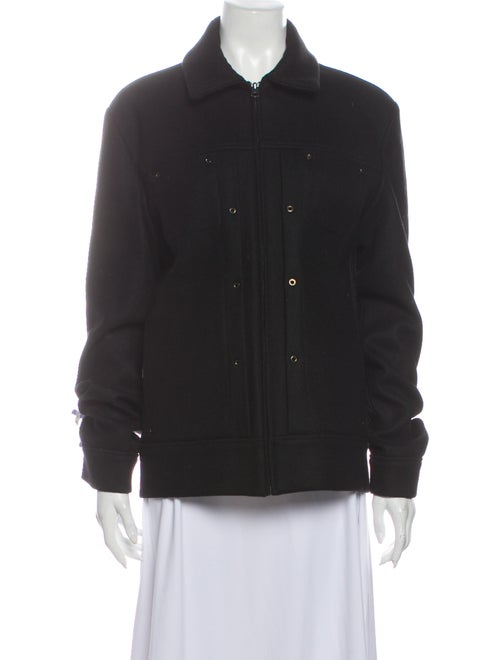 André Courrèges Wool Utility Jacket Wool