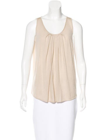 Andrew Gn Sleeveless Knit Top None