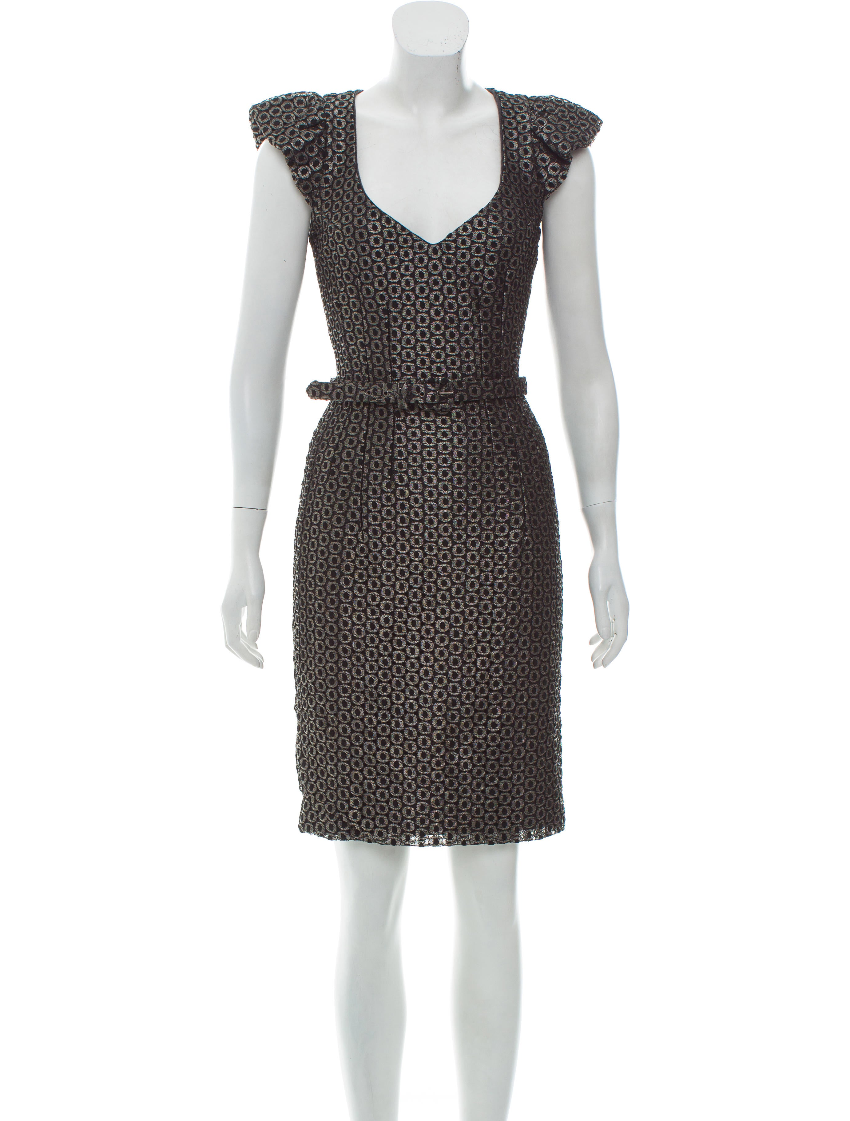 DRESSES - Knee-length dresses Andrew Gn Buy Cheap Latest Collections Cheap Sale Find Great Discount Authentic Shopping Discounts Online iGL2cn
