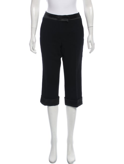Andrew Gn Ankle Wool Pants Black