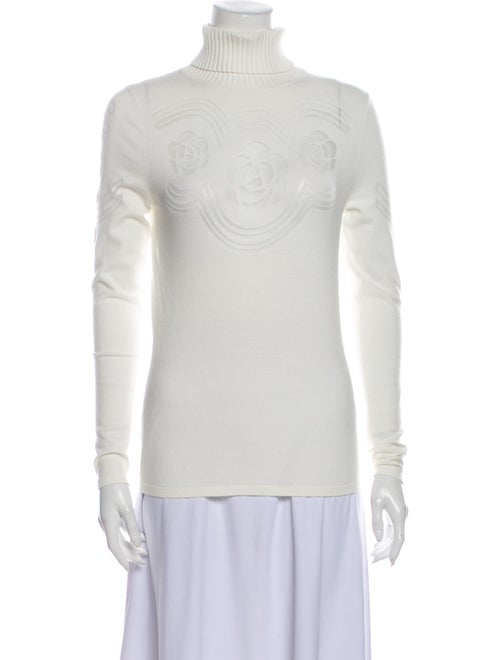 Anne Fontaine Turtleneck Sweater White