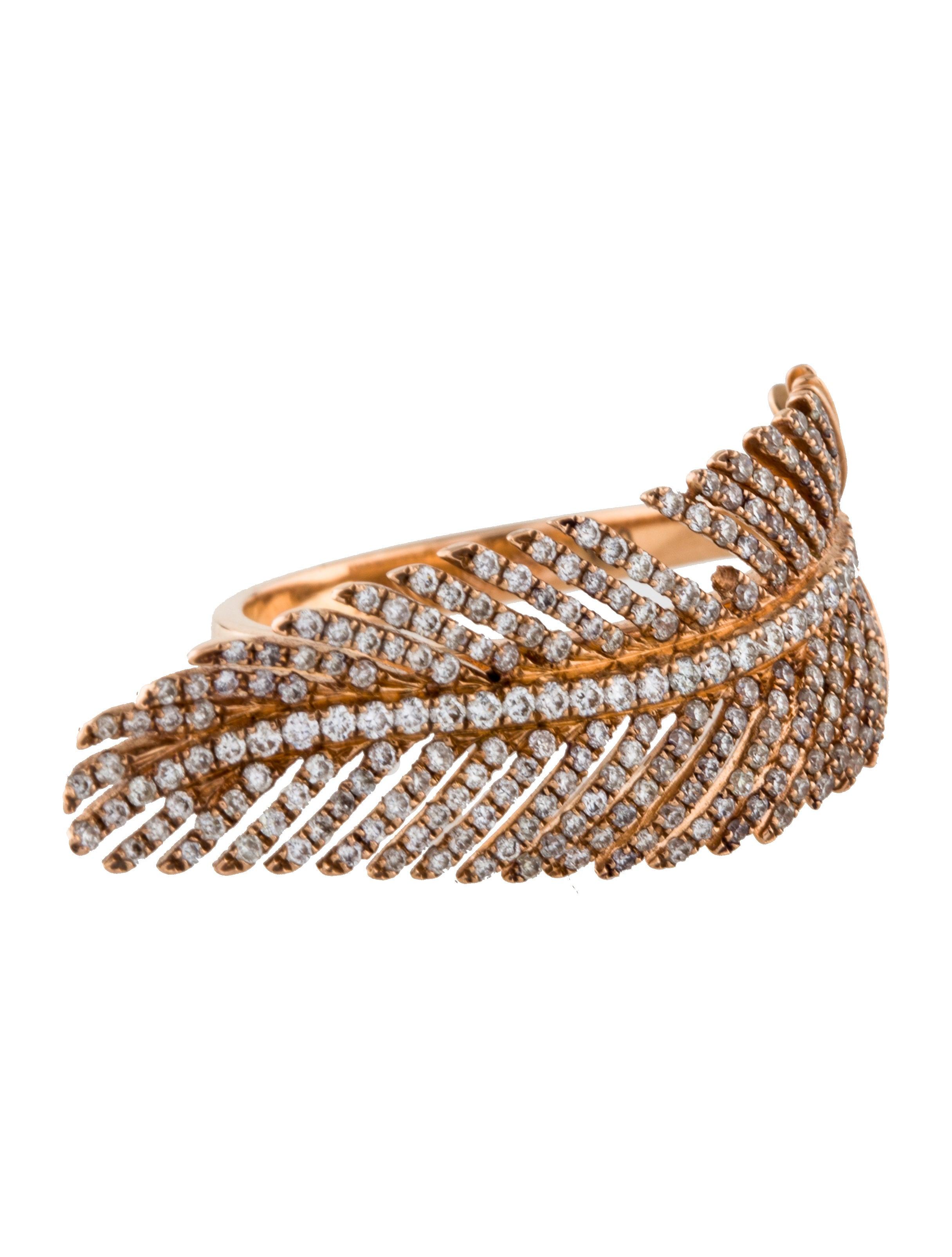 Anita Ko Feather Ring