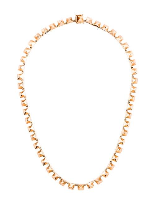 Anita Ko 14K Spike Choker Necklace rose