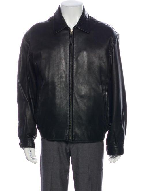 Andrew Marc Moto Jacket Black