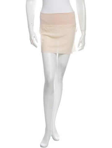 Ann Demeulemeester Silk Skirt w/ Tags None