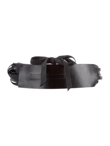 Ann Demeulemeester Kenya Leather Waist Belt w/ Tags None