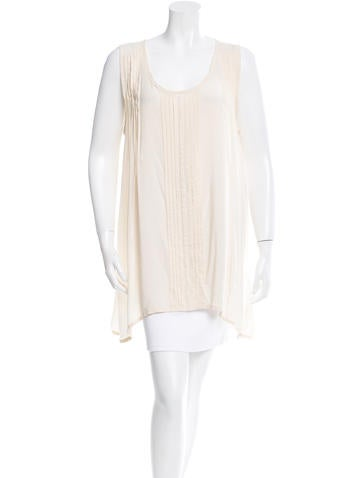 Ann Demeulemeester Pleated Sleeveless Tunic None