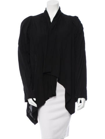 Ann Demeulemeester Asymmetrical Shawl Collar Cardigan w/ Tags None