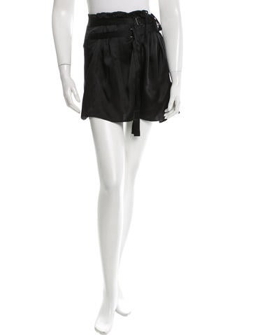 Ann Demeulemeester Silk Mini Skirt w/ Tags None