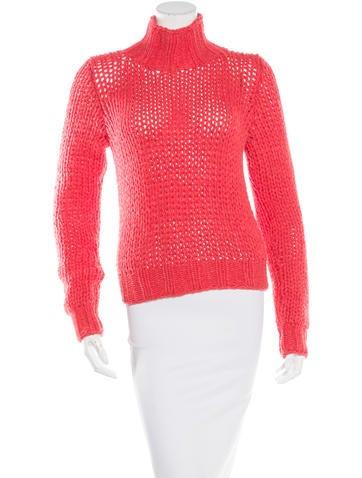 Ann Demeulemeester Merino Wool Turtleneck Sweater None