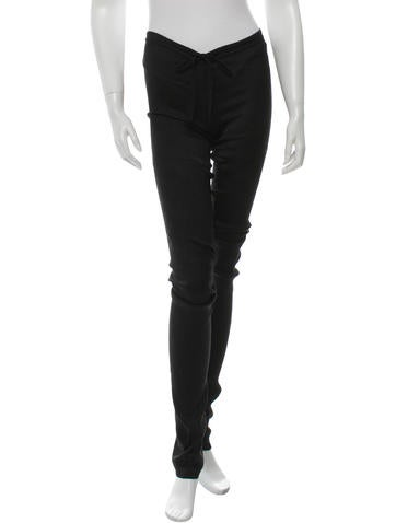 Ann Demeulemeester Textured Skinny Pants w/ Tags None