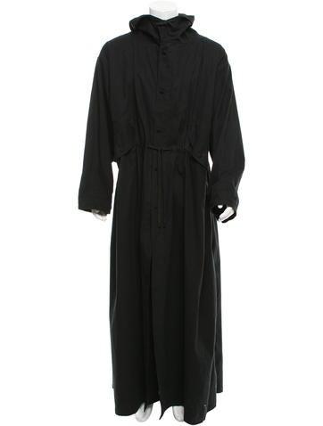 Ann Demeulemeester Lightweight Hooded Coat None