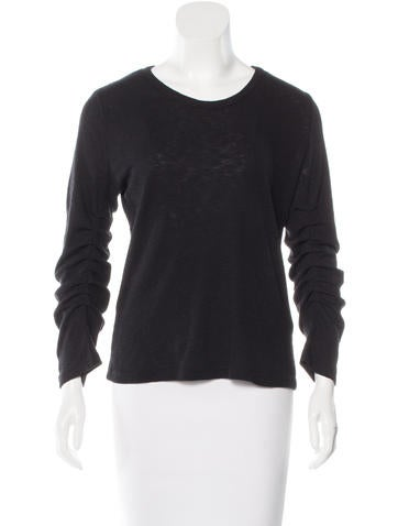 Ann Demeulemeester Long Sleeve Crew Neck Top w/ Tags None