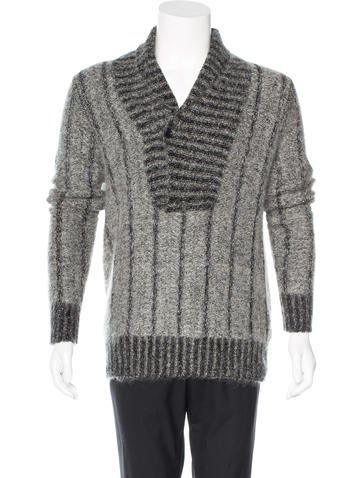 Ann Demeulemeester Mohair Shawl Sweater None