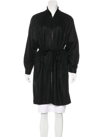 Ann Demeulemeester Embroidered Belted Coat None