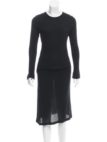 Ann Demeulemeester Knit Midi Dress None